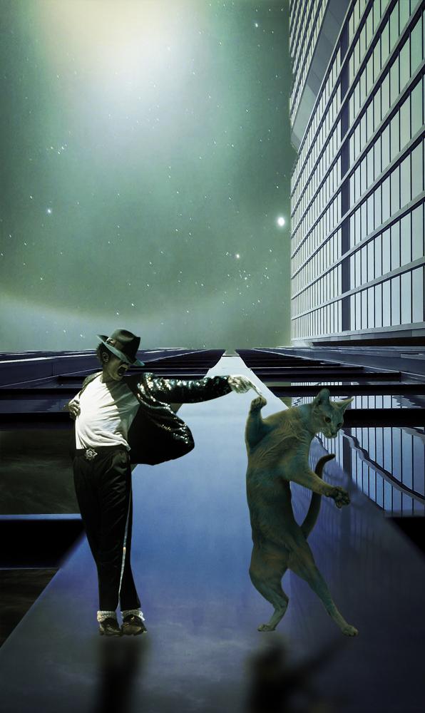 Michael Jackson en compagnie de son serpent Muscle 7ede1db1e5dd241b52e2