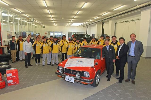Honda s'engage à la 21e édition du Rallye Monte-Carlo Historique  2a6847f136346f611a27