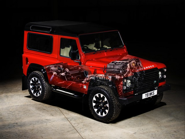 Land Rover lance une version V8 du Defender pour célébrer ses 70 ans 2f5eac16e516f31151f0
