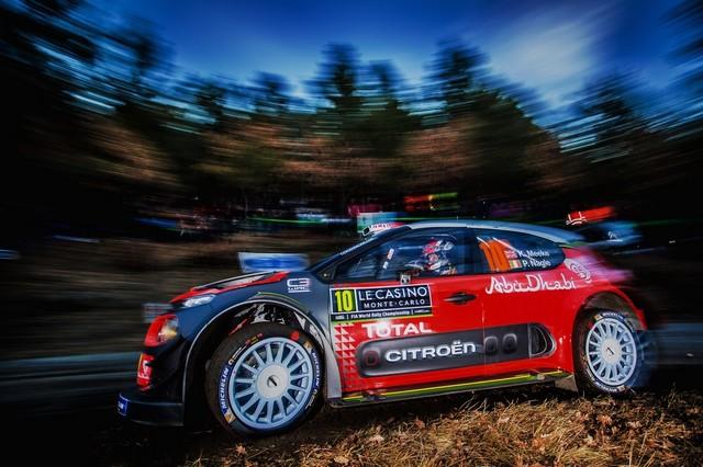 Une Entame Contrastée Pour Les C3 WRC 44023077b736fc3937af