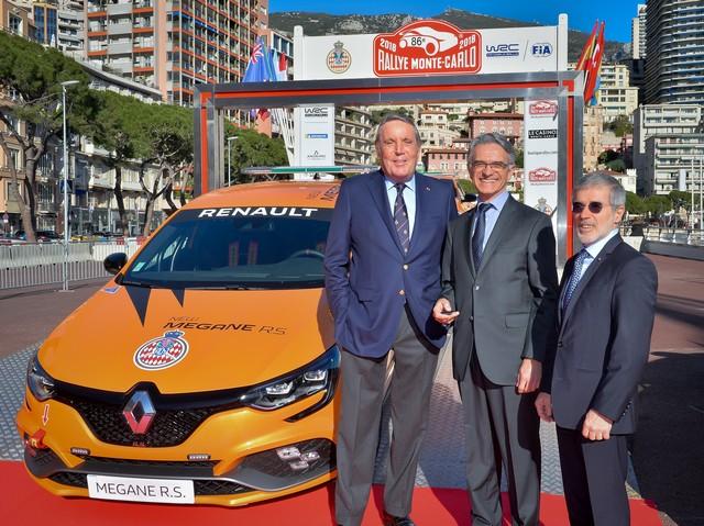 Renault Sport remet quatre Mégane R.S. à l'Automobile Club de Monaco Ae472476c6d4ddc5d794