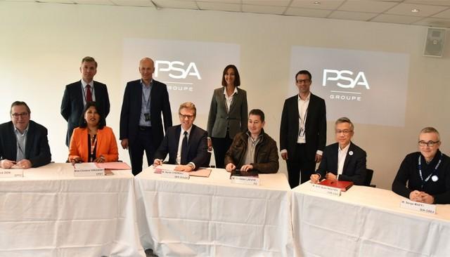 Groupe PSA : 5 syndicats sur 6, représentant 80% des salariés, signent l'accord DAEC 2018 B52a64c1c2bd55166761