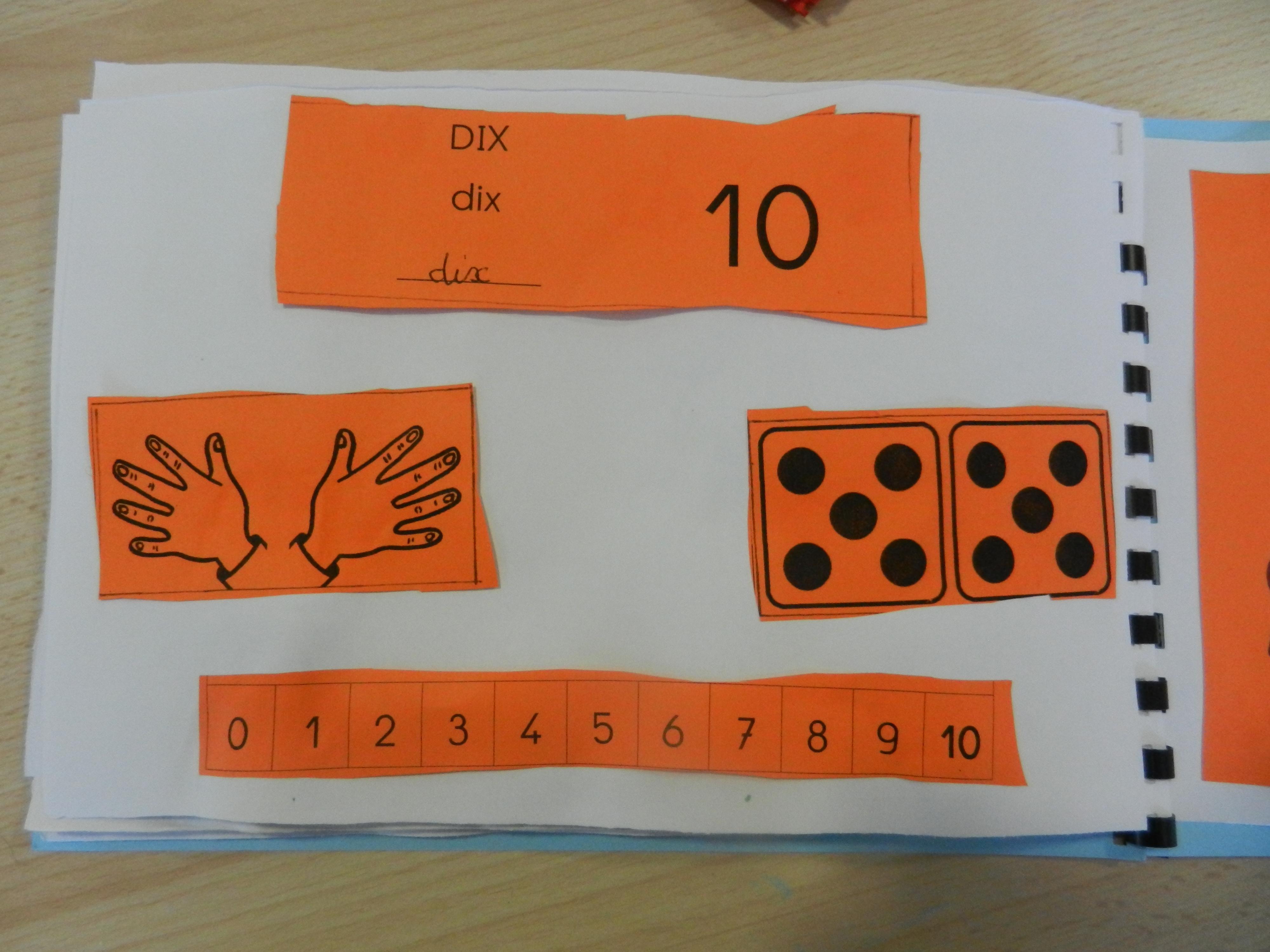 Cahier des nombres - 10