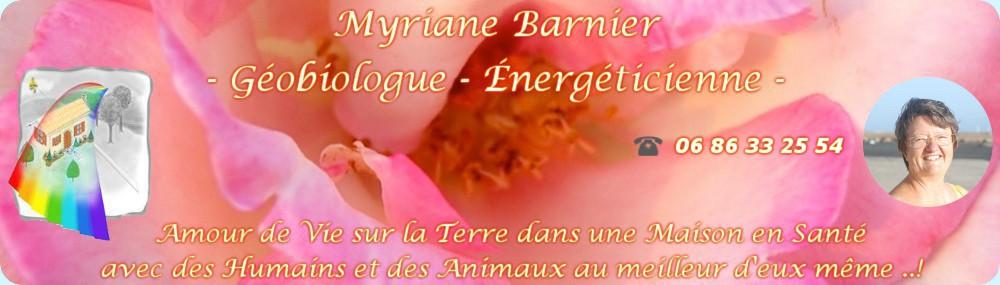 Myriane Barnier - Géobiologue - Energéticienne -